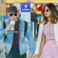 Priyanka Chopra et Nick Jonas arrivent à l'aéroport JFK de New York le 8 juin 2018.