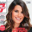 """Karine Ferri en couverture de """"Télé 7 jours"""""""