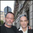 Jean Reno et Jean-Marc Barr en 2009