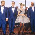 Jean Reno et Jean-Marc Barr version 1988, ici avec Luc Besson et Rosanna Arquette