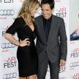 Christine Taylor et Ben Stiller à Los Angeles le 13/11/2013