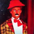 Marc-Olivier Fogiel déguisé en clown, un cliché dévoilé le 1er août 2018.