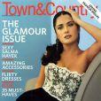 Salma Hayek pose pour la couverture du magazine Town&Country