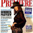 Salma Hayek pose pour la couverture du magazine Premiere