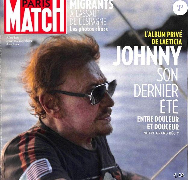 """Couverture du magazine """"Paris Match"""" en kiosques le 2 août 2018"""