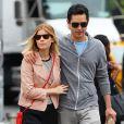 Kate Mara et son ex-compagnon Max Minghella se promènent à New York, le 4 juin 2014.