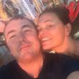 Fabien Onteniente et Nathalie Dupuis sur une photo publiée sur Instagram par la journaliste. Février 2018.
