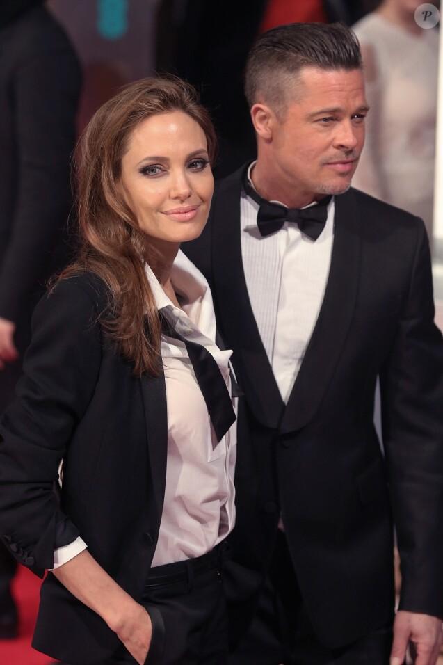 Angelina Jolie et Brad...