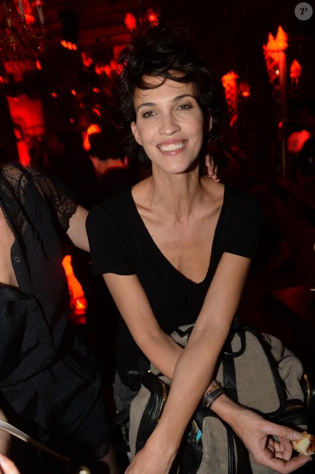 """Semi-Exclusif - Linda Hardy - After-party du film """"L'invitation"""" au Raspoutine à Paris, le 17 octobre 2016. © Rachid Bellak/Bestimage"""