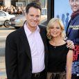 """Le réalisateur Mark Waters et sa femme Dina à la Première du film """"Ghosts of Girlfriends past"""" au Grauman's Chinese Theatre de Hollywood"""