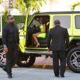Kanye West et Kim Kardashian à Miami le 18 août 2018.