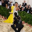 Kesha Ward et son fiancé 2 Chainz au Met Gala 2018 à New York, le 7 mai 2018 © Christopher Smith/AdMedia via Zuma/Bestimage