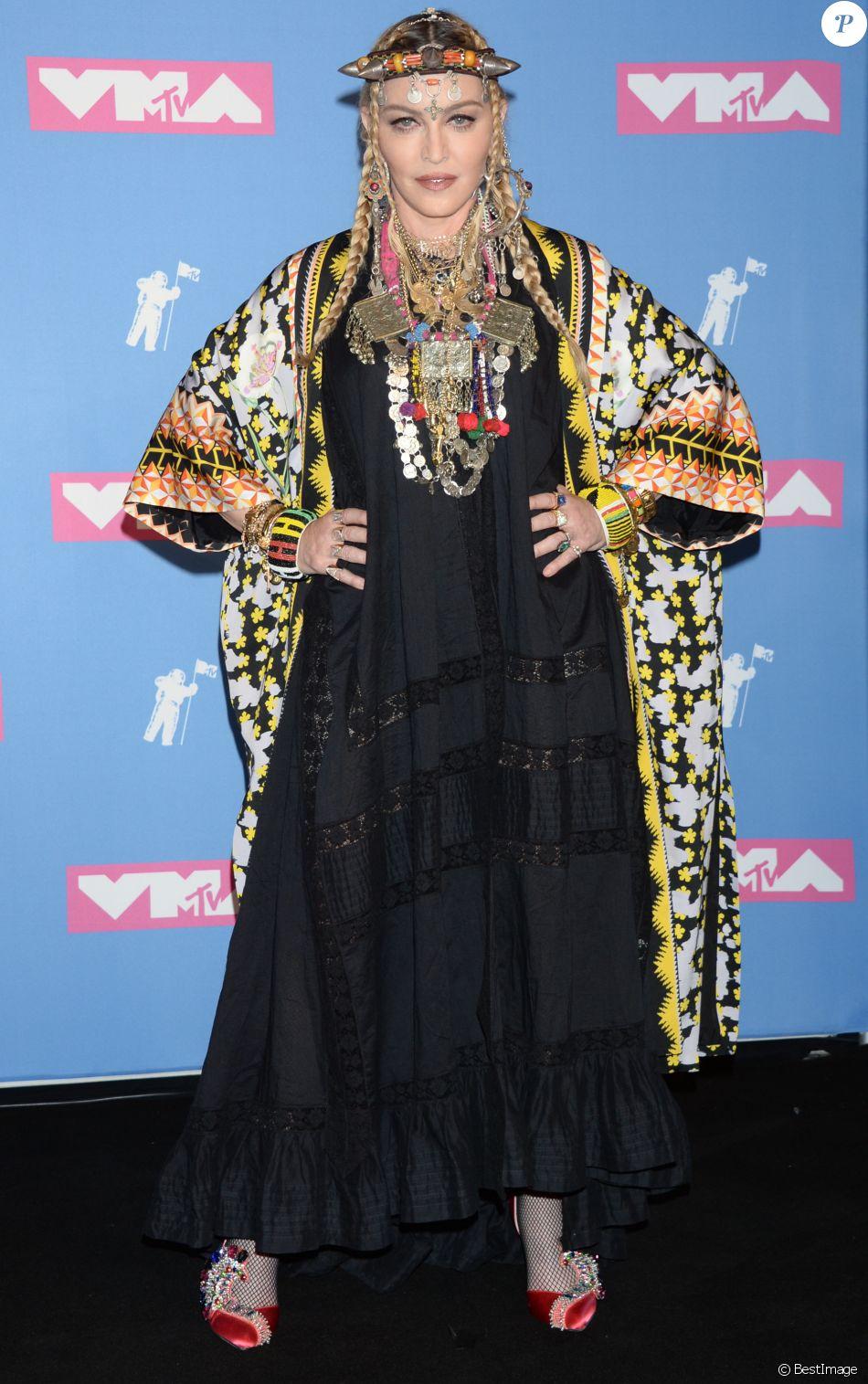 Madonna aux MTV Video Music Awards 2018 à New York, le 20 août 2018.