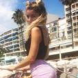 Lola Marois sexy à Cannes - 6 août 2018, Instagram