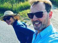 Kim Cattrall : Rare photo avec son amoureux Russell pour ses 62 ans