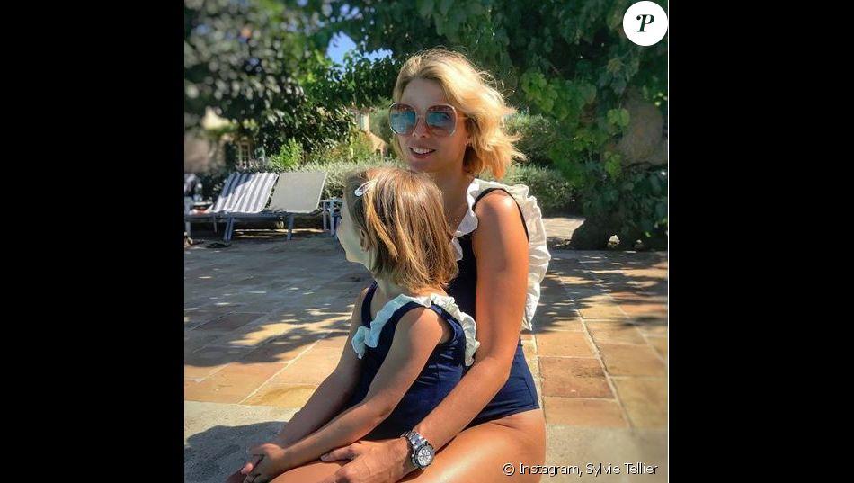 Sylvie Tellier et sa fille Margaux -Instagram, 27 août 2018