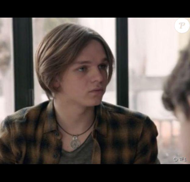 """Jean-Baptiste Lamour dans """"Demain nous appartient"""" sur TF1."""