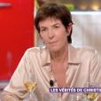 """Christine Angot revient sur son clash avec Sandrine Rousseau sur la plateau de """"C à vous"""" sur France 5 le 5 septembre 2018."""