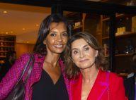 Karine Le Marchand souriante malgré le clash face à Rachida Dati