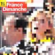 """Couverture du """"France Dimanche""""."""