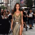 "Irina Shayk arrive à la soirée ""6th Annual Media Awards"" au Park Hyatt Hotel à New York. le 6 septembre 2018."