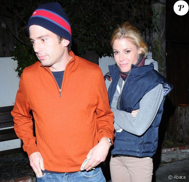 Julie Bowen et Scott Phillips à Los Angeles, en 2011