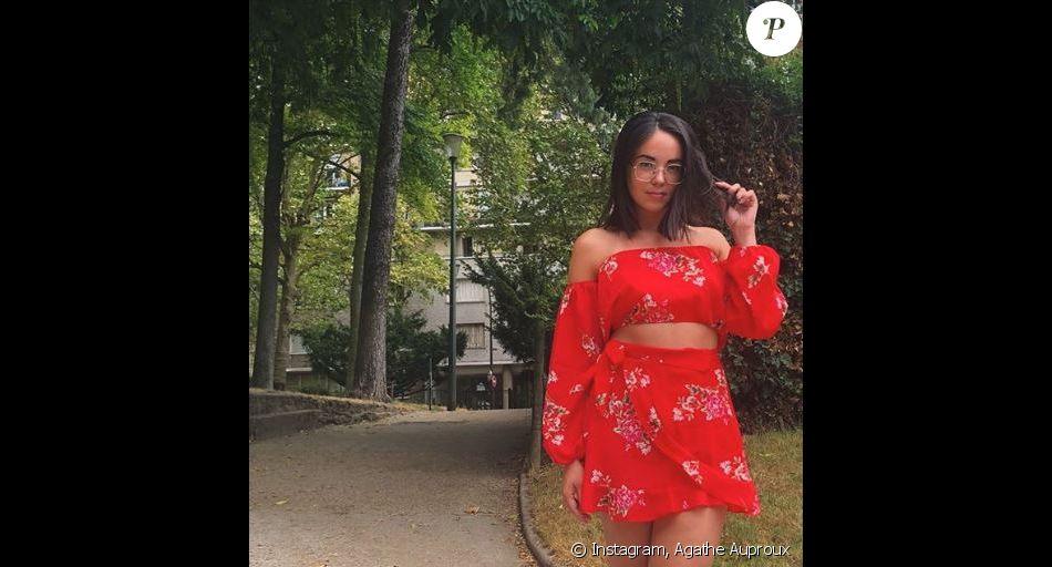 Agathe Auproux enflamme une nouvelle fois la toile - Instagram, 17 juillet 2018
