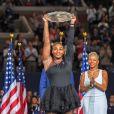 Naomi Osaka - Finale femme de de l'US Open de Tennis 2018 à New York le 9 septembre 2018.
