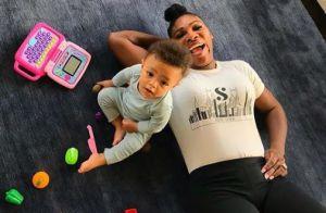 Serena Williams : Retour à l'apaisement avec son adorable petite Olympia