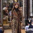 Défilé de mode Victoria Beckham collection prêt-à-porter Automne-Hiver 2018 lors de la fashion week à New York, le 11 février 2018  Victoria Beckham fashion show ready-to-wear A/W 2018 in New York. On February 11st 201811/02/2018 - New York