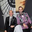Exclusif - Jacques Bec et Artur Miranda - Dîner de Gala de la 30e Biennale de Paris au Grand Palais, le 6 septembre 2018 © Luc Castel - Julio Piatti / Bestimage