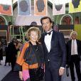 Exclusif - Monique Barbier Mueller et Mathias Ary Jan -Dîner de Gala de la 30e Biennale de Paris au Grand Palais, le 6 septembre 2018 © Luc Castel - Julio Piatti / Bestimage
