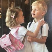 Jacques et Gabriella de Monaco : Photos des jumeaux pour leur 1re rentrée !