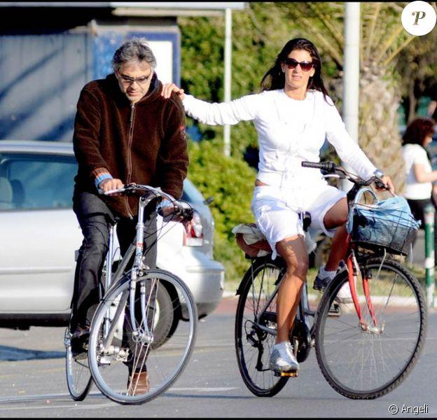 Andrea Bocelli et sa compagne Veronica Berti