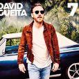 """Pochette de l'album """"7"""" de David Guetta dans les bacs le 14 septembre 2019."""