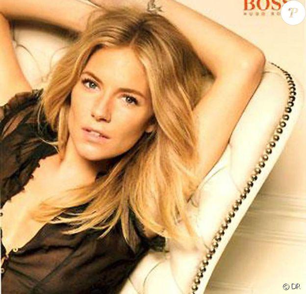 Sienna Miller pour Hugo Boss