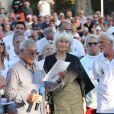 Semi-exclusif - France Marouani - Challenge Henri Salvador 2018 en hommage à Charley Maraouni, à Ile Rousse, Corse, France, le 14 Septembre 2018.