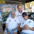 Semi-exclusif - Enrico Macias, Pascal Elbé - Challenge Henri Salvador 2018 en hommage à Charley Maraouni, à Ile Rousse, Corse, France, le 14 Septembre 2018.