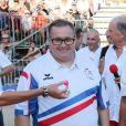 Semi-exclusif - Enrico Macias - Challenge Henri Salvador 2018 en hommage à Charley Maraouni, à Ile Rousse, Corse, France, le 14 Septembre 2018.