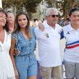 Semi-exclusif - Clara Morgane, Michel Boujenah - Challenge Henri Salvador 2018 en hommage à Charley Maraouni, à Ile Rousse, Corse, France, le 14 Septembre 2018.