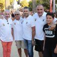 Semi-exclusif - Michel Boujenah - Challenge Henri Salvador 2018 en hommage à Charley Maraouni, à Ile Rousse, Corse, France, le 14 Septembre 2018.