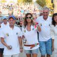 Semi-exclusif - Évelyne Thomas - Challenge Henri Salvador 2018 en hommage à Charley Maraouni, à Ile Rousse, Corse, France, le 14 Septembre 2018.