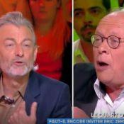 """Gilles Verdez insulté par André Bercoff: """"Tu la fermes, ta grande gueule de con"""""""