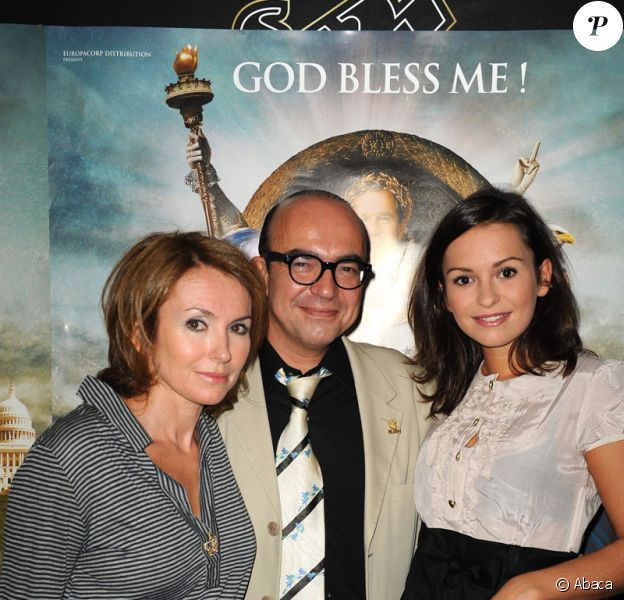 Anaïs Tellenne et ses parents Daisy d'Errata et Karl Zéro