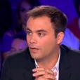 """Charles Consigny s'en prend à Gérard Collomb sur le plateau de """"On n'est pas couché"""" le 22 septembre 2018 sur France 2."""