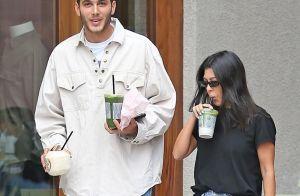 Kourtney Kardashian : Repérée très proche d'un charmant jeune homme...