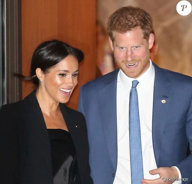 Le prince Harry et Meghan Markle, duchesse de Sussex, quittant la soirée des WellChild Awards à Londres le 4 septembre 2018.