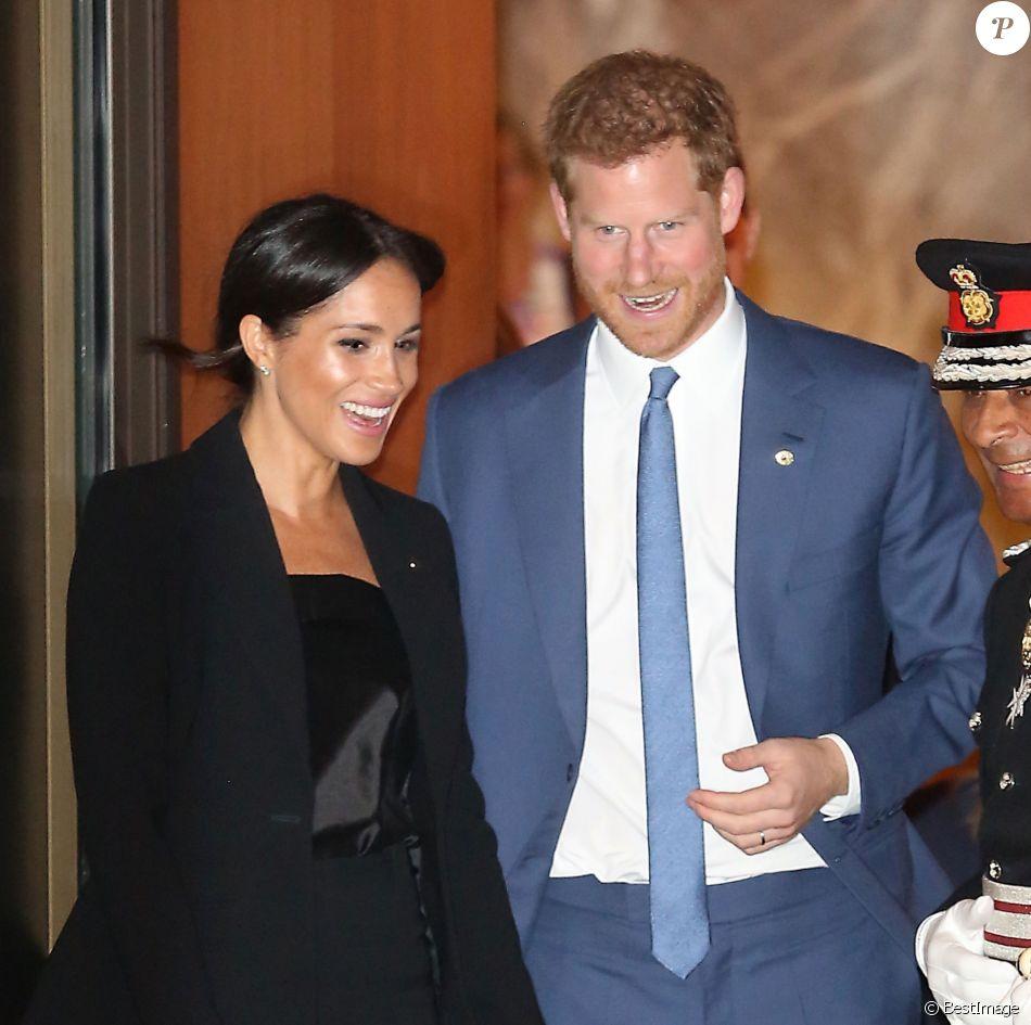 Le prince Harry et Meghan Markle, duchesse de Sussex, quittant la soirée des WellChild Awards à Londres le 4 septembre 2018.