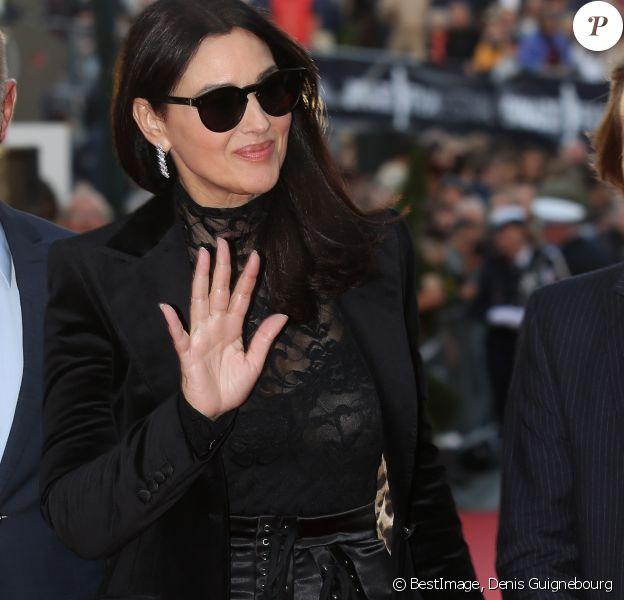 Monica Bellucci - Clôture du 29ème Festival du Film de Dinard le 29 septembre 2018. © Denis Guignebourg/Bestimage