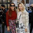 Laure Heriard Dubreuil et Alexandra Golovanoff arrivent au défilé Stella McCartney PAP femme printemps / été 2019 à l'Opéra Garnier à Paris le 1er octobre 2018. © CVS-Veeren/Bestimage